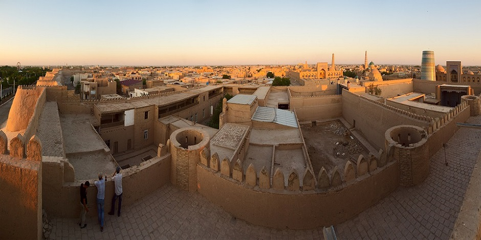 Khiva panoramique