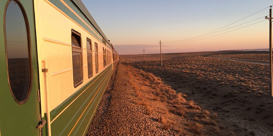 Orient Silk Road Express en route